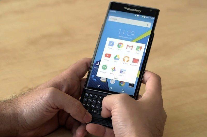 Jedním z hlavních rysů BlackBerry Priv má být hardwarová klávesnice