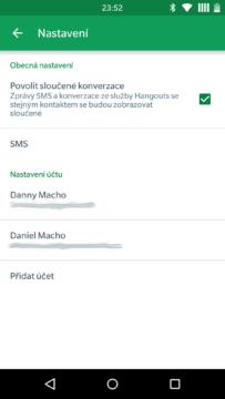 Hangouts 5.0 - novinky (1)