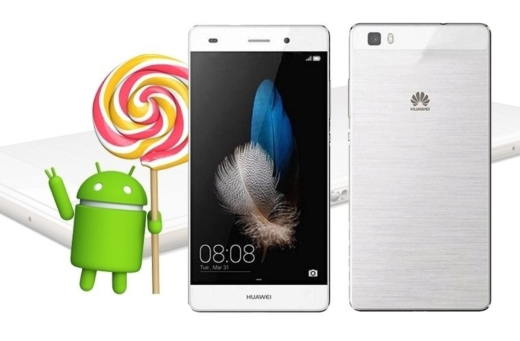 Huawei P8 Lite – Lollipop upgrade – náhleďák