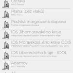 MHD Tabule – Screenshot aplikace (2)