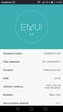 Mate 7 Android 5.1.1