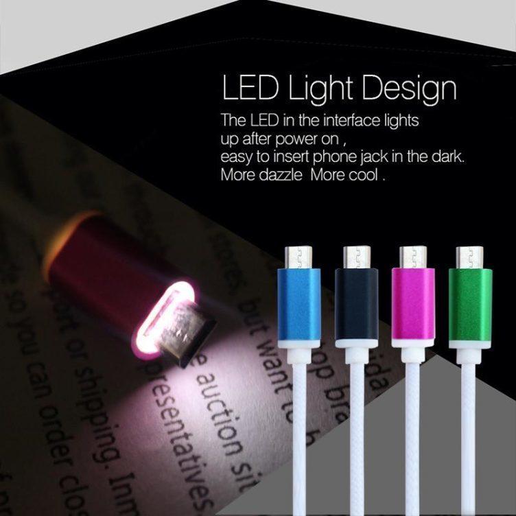 Micro USB svítilny
