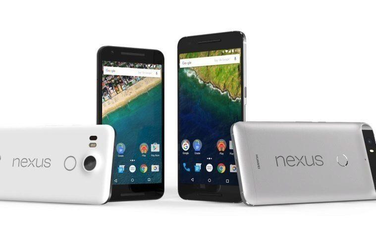 Nexus 5X a Nexus 6P - náhleďák