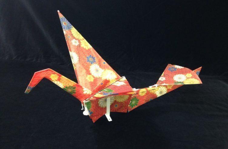 Orizuru - nejlehčí dron 2