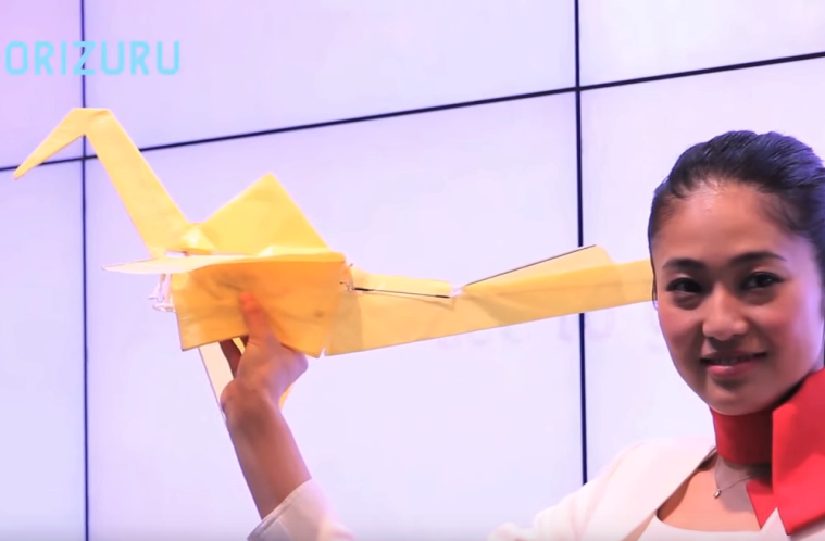 Orizuru – nejlehčí dron