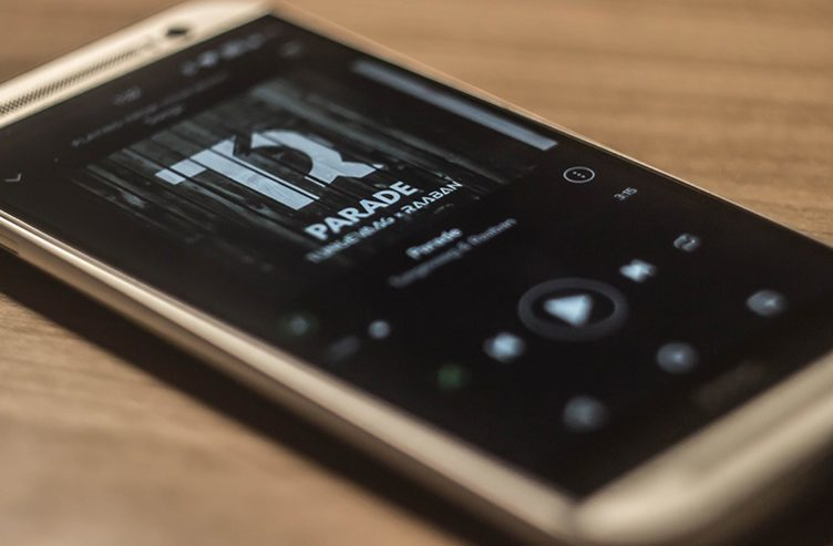 Spotify na HTC