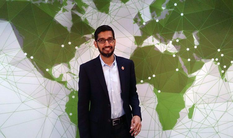 Generální ředitel Googlu Sundar Pichai