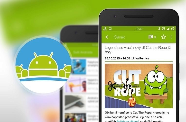 aplikace Svět Androida