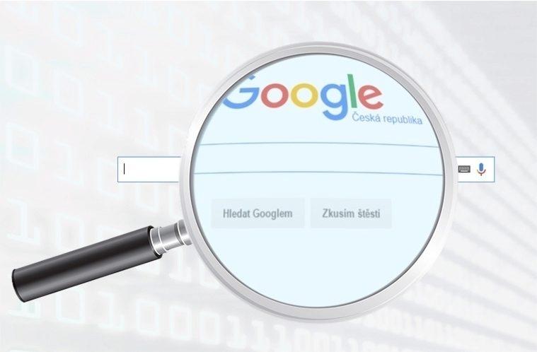 Vyhledávání Google – náhleďák