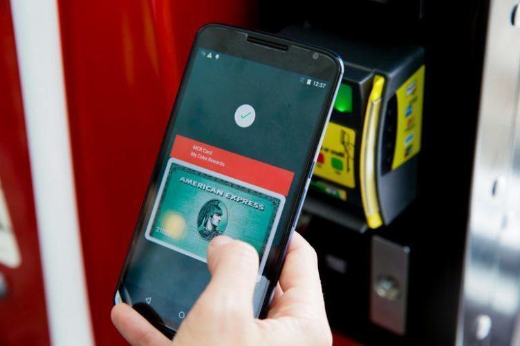 android pay čtečka otisků
