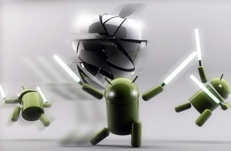android vs apple podil na trhu