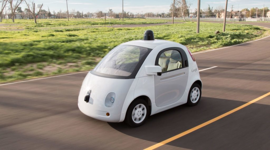 chytrá auta bez řidiče