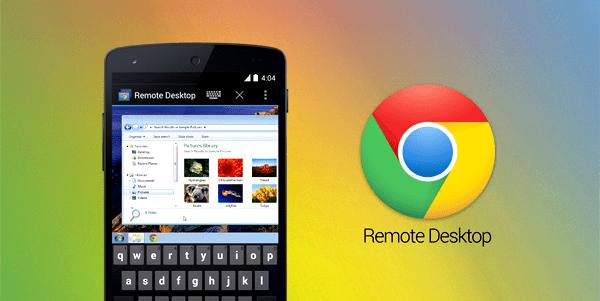 google aplikace chrome desktop remote