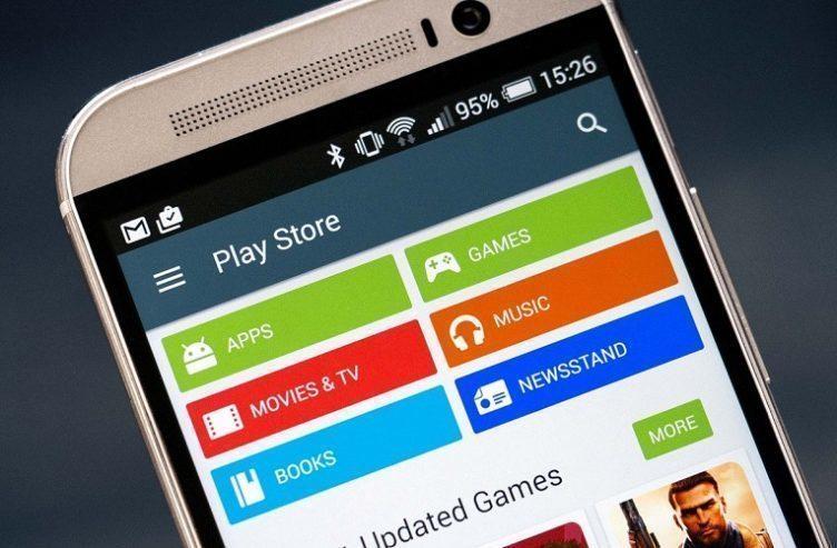 google play začátky s androidem