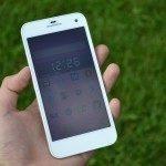 GSmart Guru G1 –  přední strana telefonu (8)