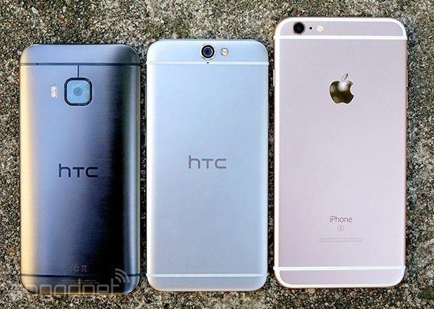 htc one A9 M7 apple