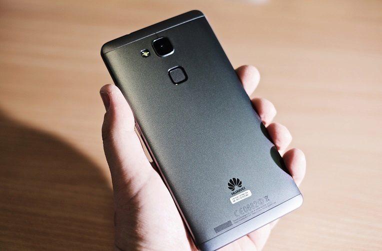 Huawei čtečka otisků prstů