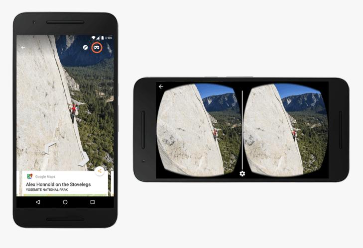 Podpora Google Street View pro Cardboard dovole zkoumat průběžně aktualizované pohledy na místa po celém světě