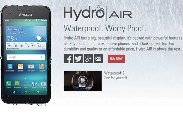 kyocera hydro air titul