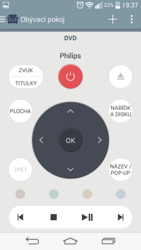 LG G3s - aplikace Quick Remote