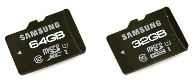 microSD jak s vybrat samsung