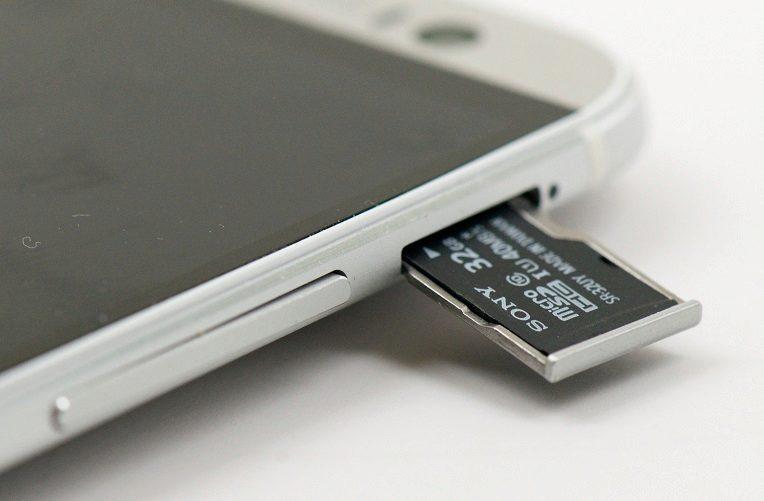 microsd slot