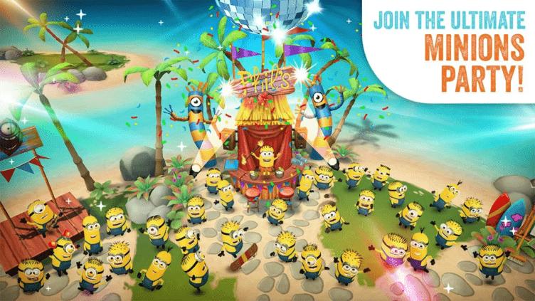 Užijte si párty v Minions Paradise