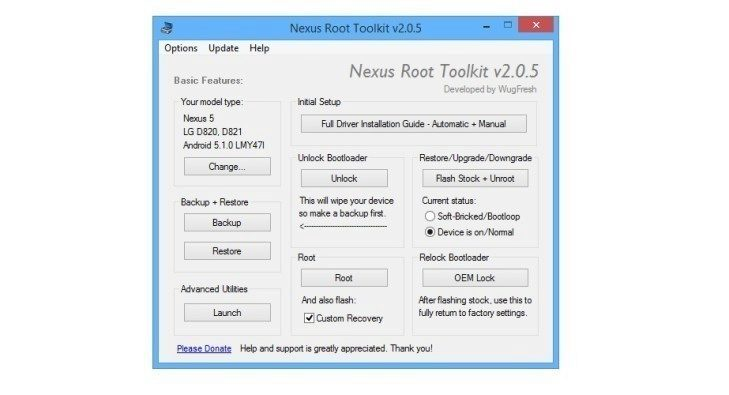 nexus 5 6 9 downgrade android 6