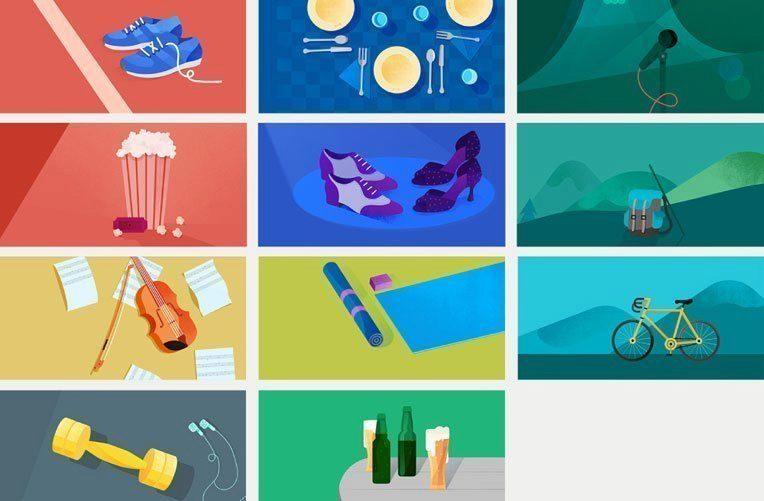 All Google Calendar Illustrations : Tip redakce ilustrační obrázky k událostem kalendáře google