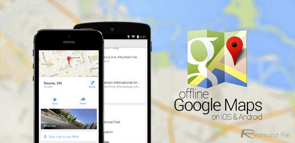offline GPS navigace