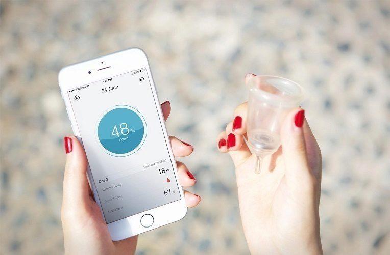 smart menstruační kalíšek