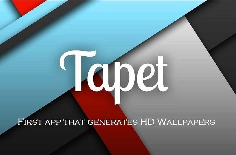 tapet – aplikace tapety
