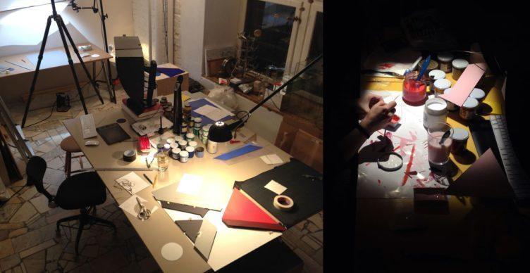 Kleinerovo studio ve švédském Stockholmu