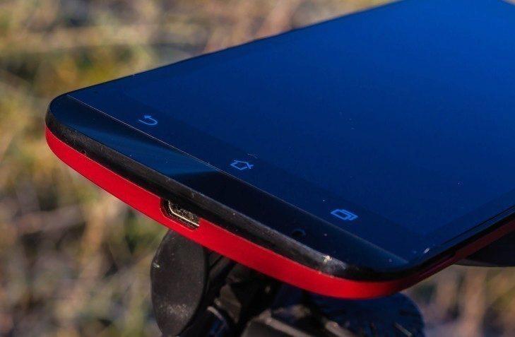 Asus ZenFone 2 Laser - dolní strana