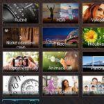 Asus ZenFone 2 Laser – fotoaparát – automatické režimy a funkce