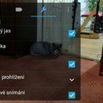 Asus ZenFone 2 Laser – fotoaparát – nastavení