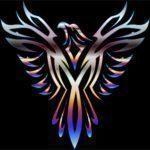 Colorful-Phoenix-Line-Art-8
