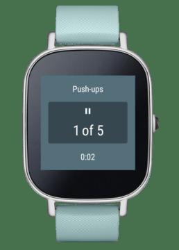 Majitelům nositelné elektroniky se systémem Android Wear pomůže při silovém tréninku