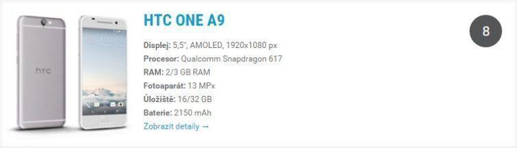 HTC One A9 - katalog