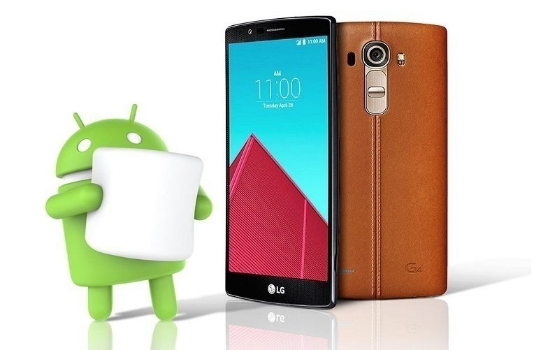 LG G4 marshmallow titul