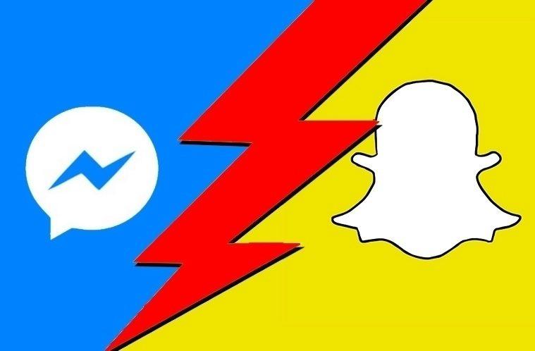 Messenger vs Snapchat – náhleďák