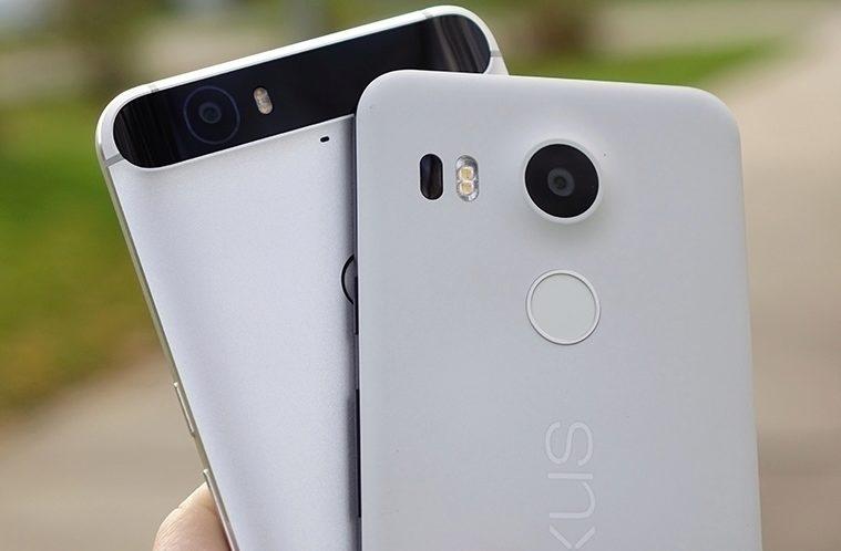Nexus 6P a Nexus 5X