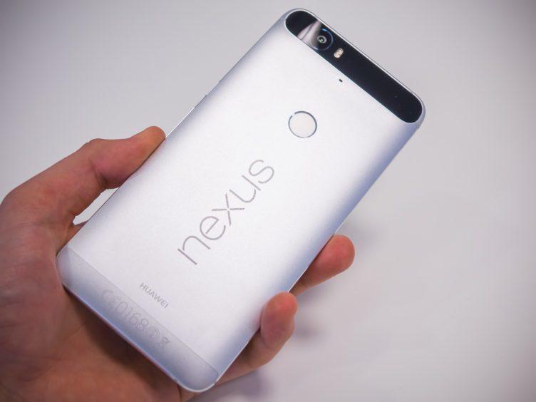 Nexus 6P - záda