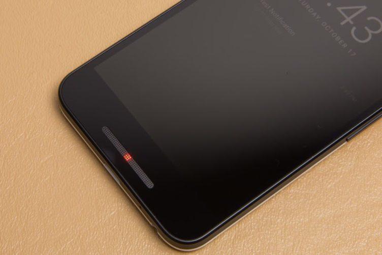 Nexus notifikační dioda