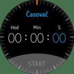 Samsung Gear S2 – hodiny – časovač