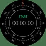 Samsung Gear S2 – hodiny – stopky