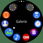 Samsung Gear S2 – menu aplikací 1
