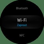Samsung Gear S2 – nastavení – konektivita 2