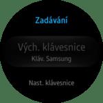 Samsung Gear S2 – nastavení zadávání 1