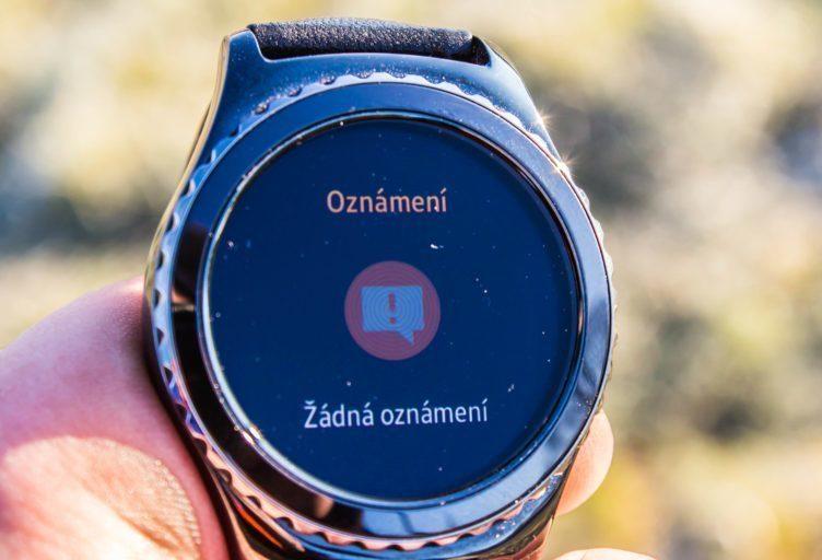 Samsung Gear S2 - oznámení